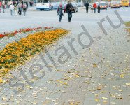аллея тротуарная плитка