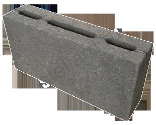Камень перегородочный (пескоцемент) КП-ПР-ПС39