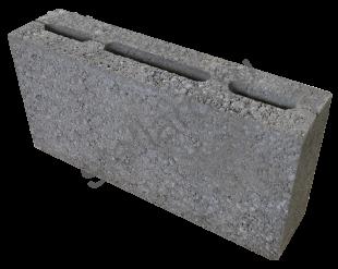 Керамзитобетонный перегородочный блок КП-ПР-ПС39