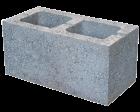 Камень стеновой керамзитобетонный КСЛ-ПР-ПС39