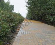 укладка тротуарной плитки в парке тула