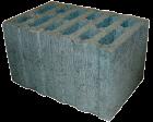 Камень стеновой керамзитобетонный КСЛ-ПР-ПС38