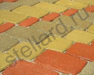 Вариант укладки вибропрессованной тротуарной плитки Классико русто