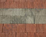 Вариант укладки тротуарной плитки формы Сицилия серии Итальянская коллекция