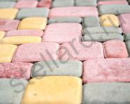 Вариант укладки вибропрессованной тротуарной плитки Старый город классов Престиж и Стандарт