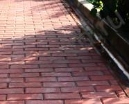 Способ укладки качественной вибропрессованной тротуарной плитки брусчатки