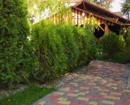 Тротуарная плитка старый город у ресторана Сударь г. Тула