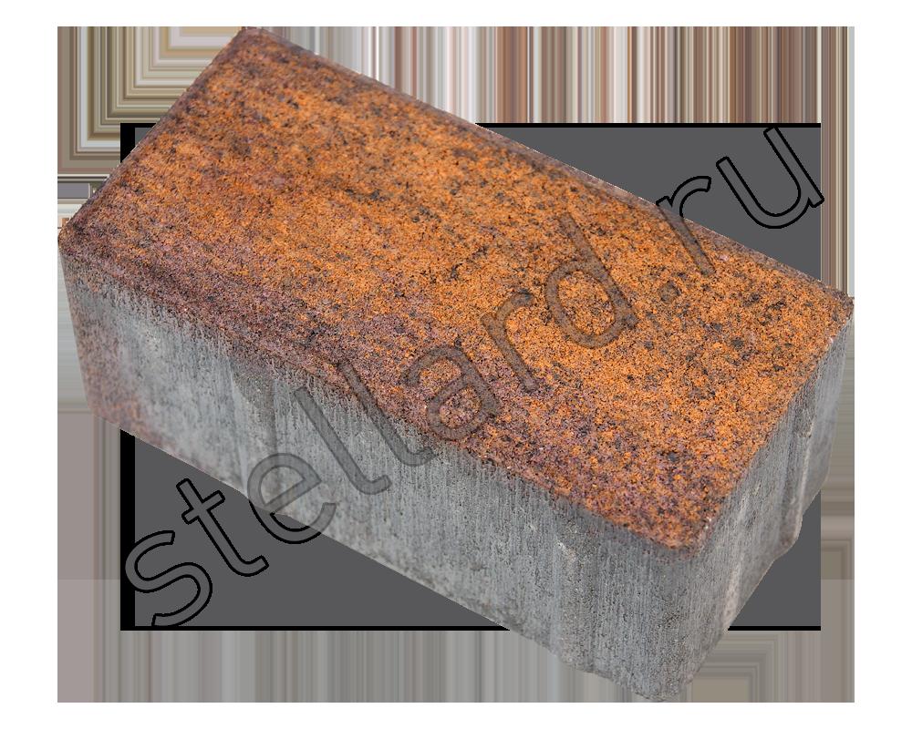 Тротуарная плитка брусчатка колормикс Stellard или листопад
