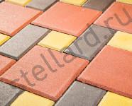 Тротуарная плитка брусчатка и квадрат от Стеллард в Туле, Московской области