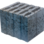 Керамзитобетонный вибропресованный стеновой блок КСР-ПР-ПС-29 для строительства теплых домов