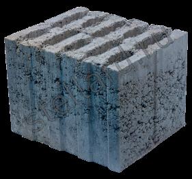 Камень стеновой керамзитобетонный КСР-ПР-ПС29