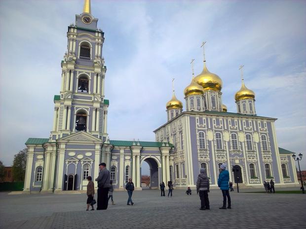 Тротуарная плитка компании Stellard в Тульском кремле