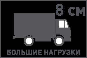 Толщина тротуарной плитки для мест с проездом грузового автотранспорта не менее 8 см