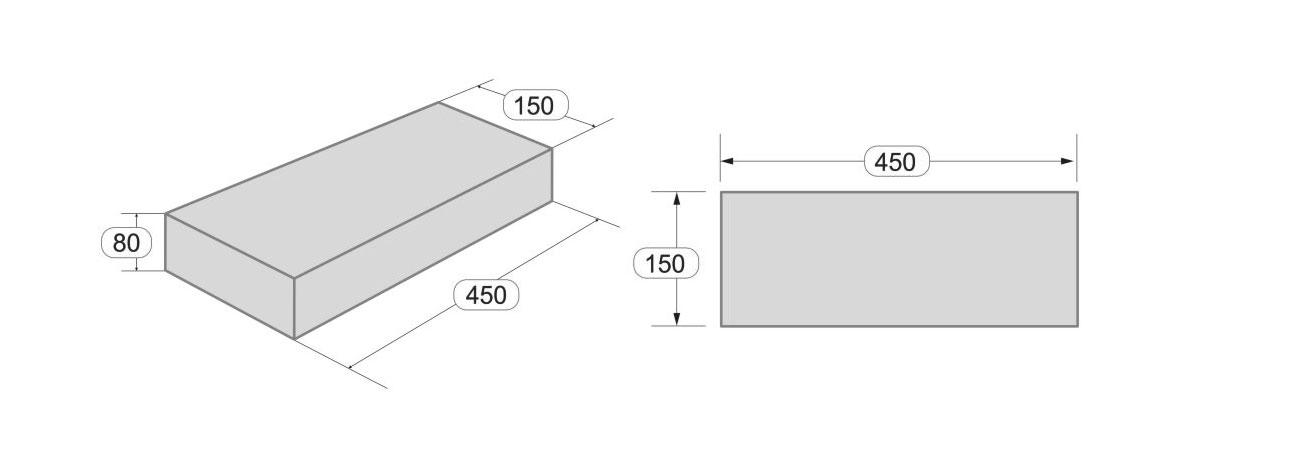 Размеры тротуарной плитки Паркет