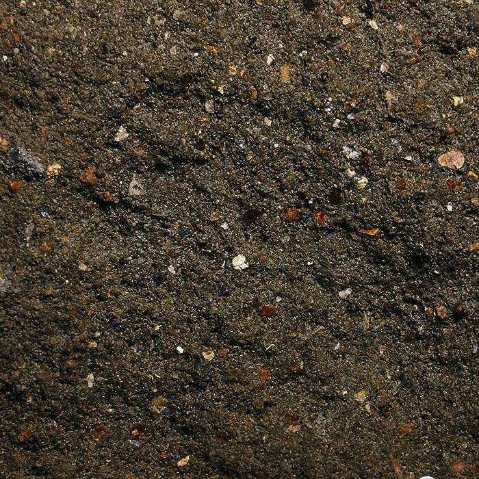 Черный цвет колотого камня