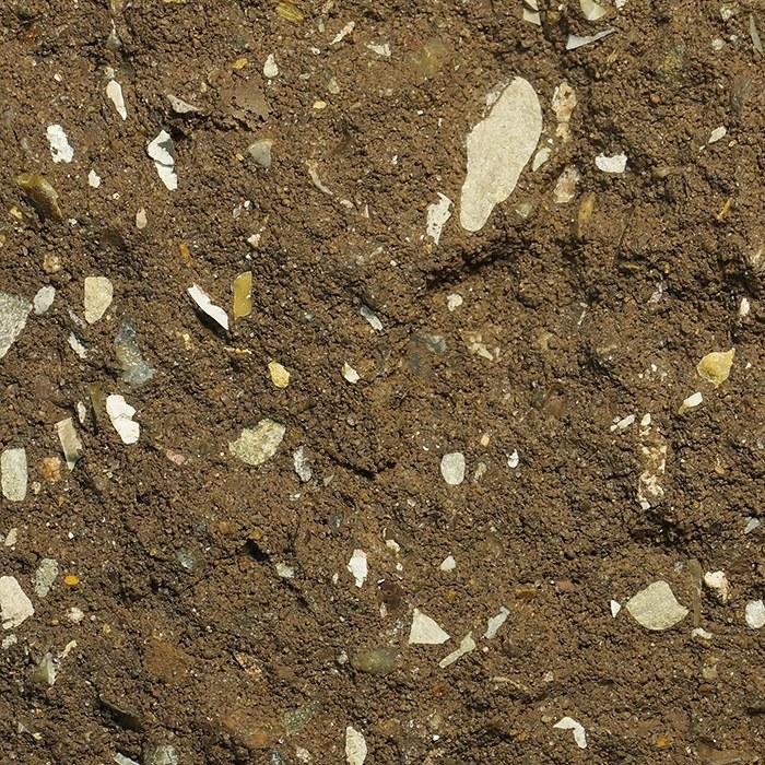 Коричневый цвет колотого камня