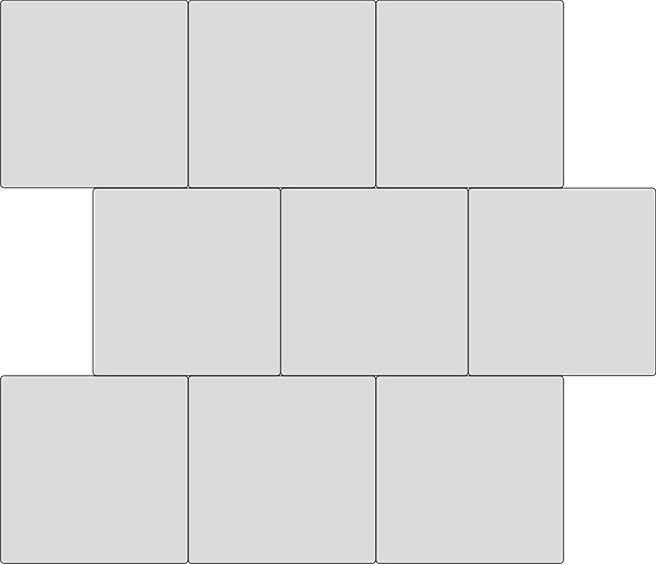 Вариант укладки с плиткой Плиты укрепления откосов