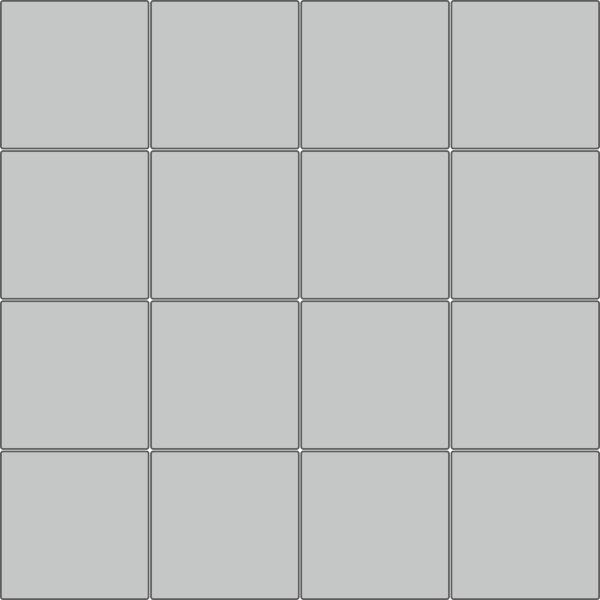 """Вариант укладки с плиткой Тротуарная плитка Стандарт """"Квадрат 30х30"""""""