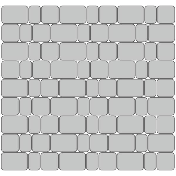 Вариант укладки с плиткой Престиж «Старый город»