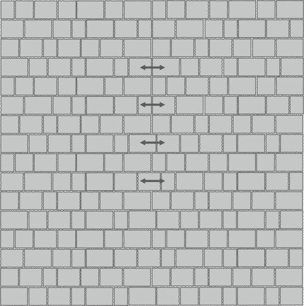 Вариант укладки с плиткой Тротуарная плитка Стандарт  Венеция