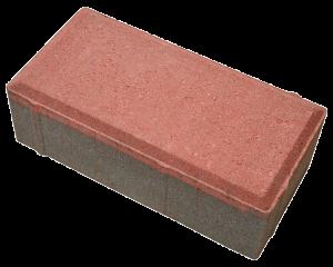 Брусчатка Престиж - красный цвет - тротуарная плитка Stellard