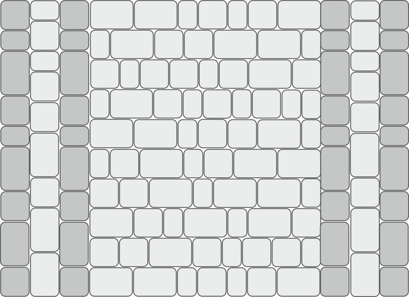 Схема укладки для тропинок