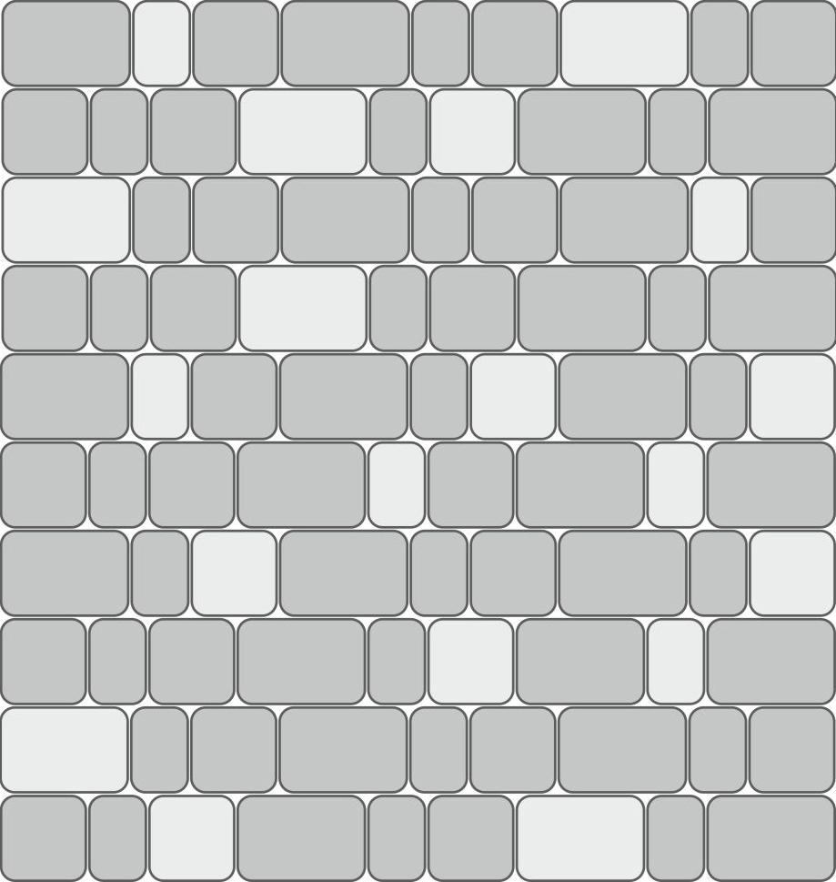Стандартная двухцветная схема укладки