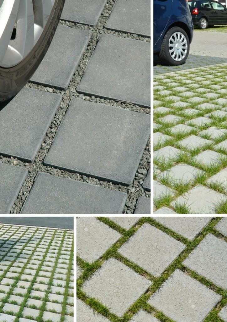 Тротуарная плитка Эко квадрат