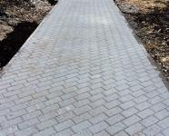 Тротуарная плитка Брусчатка серая - Тула