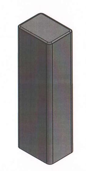 Квадратный столбик Палисад