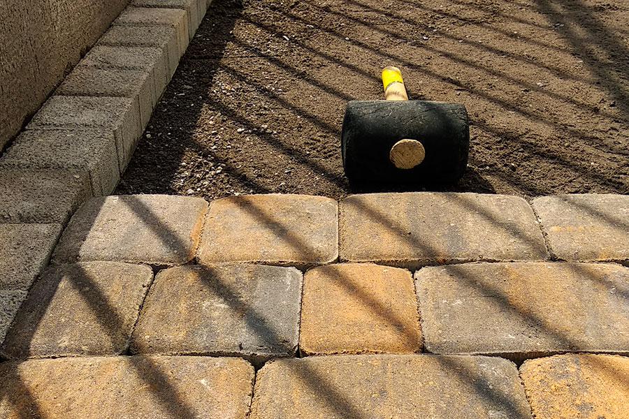 Советы по укладке тротуарной плитки