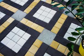 Схемы укладки тротуарной плитки брусчатка и квадрат
